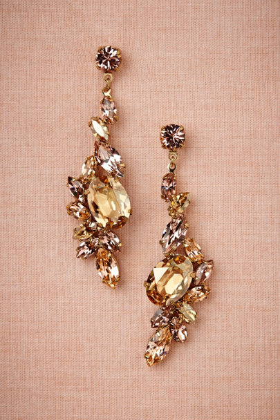 vintage rose Sunrise Earrings | BHLDN