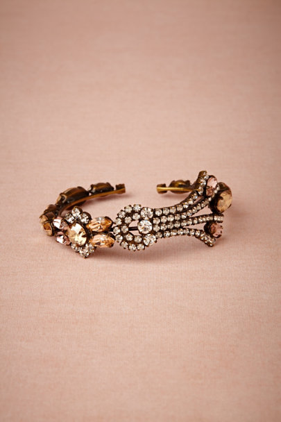 vintage rose Fontaine Bangle | BHLDN