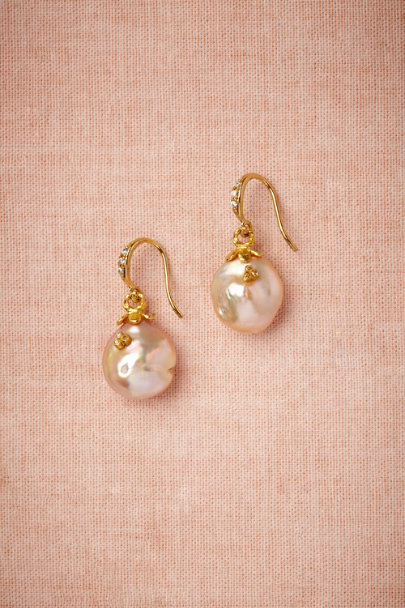 pearl Night's Light Earrings | BHLDN