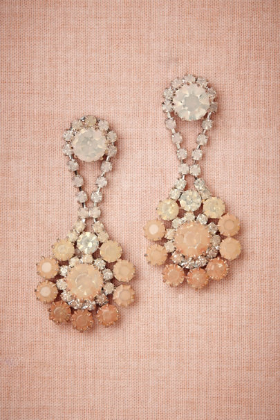 blush Peachy Ombre Earrings | BHLDN