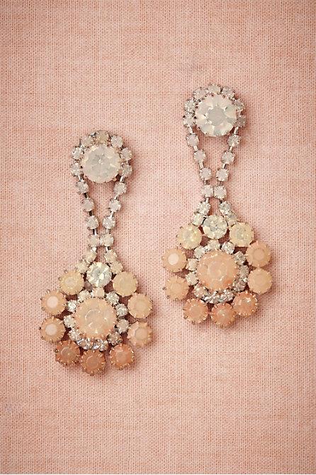 Peachy Ombre Earrings