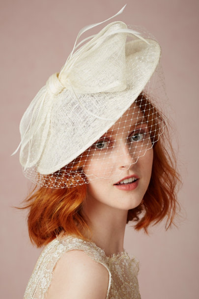 ivory Piazza Hat | BHLDN