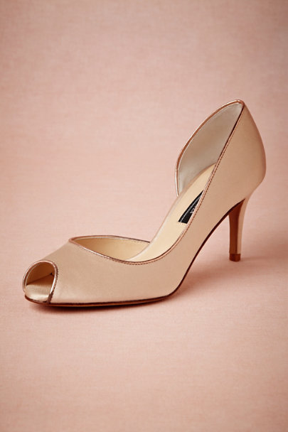 nude Lilydale Pumps | BHLDN