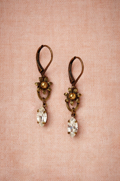 Eric et Lydie crystal Bellis Earrings | BHLDN
