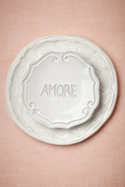 White Amore Dish | BHLDN