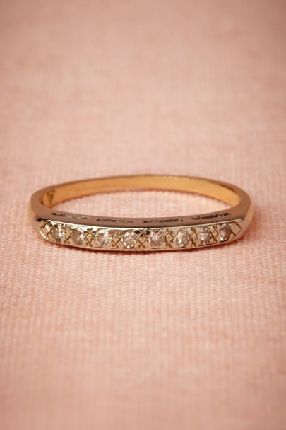 yellow gold Inez Ring | BHLDN