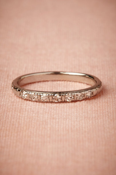 platinum Tried & True Ring | BHLDN
