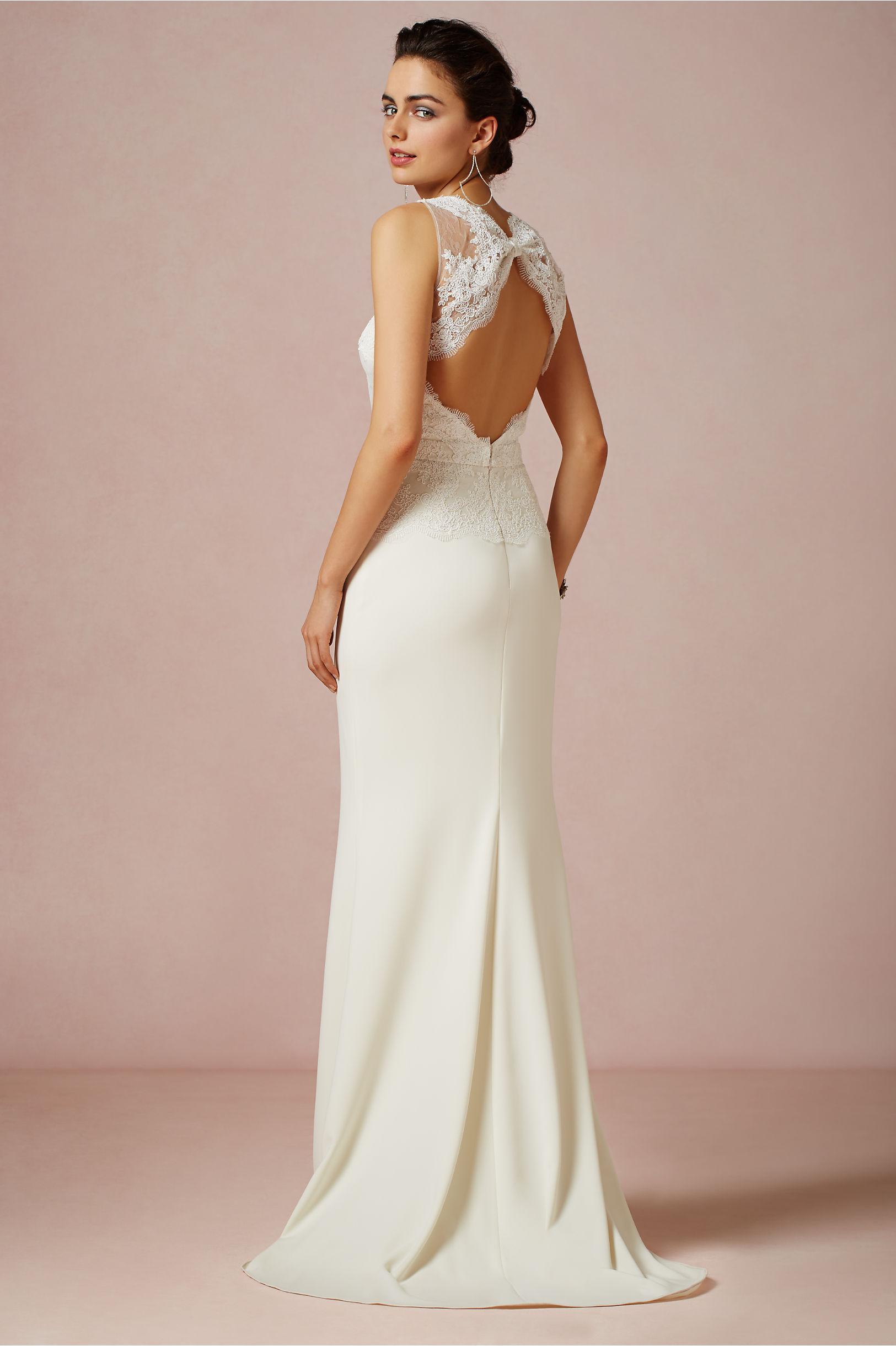 Odessa Gown in Bride | BHLDN