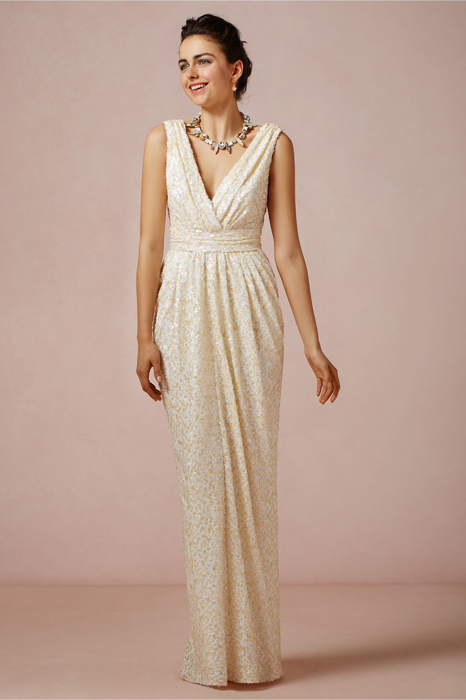 Badgley Mischka Ivory Dress | Weddings Dresses