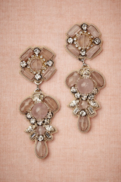 Ranjana Khan rose quartz Rosa Chandeliers | BHLDN
