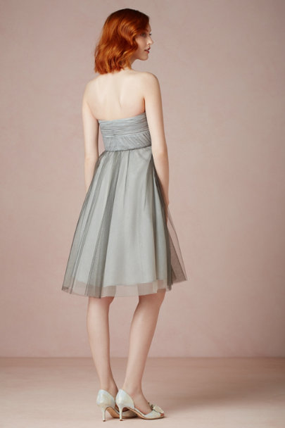 grey Choreography Dress | BHLDN