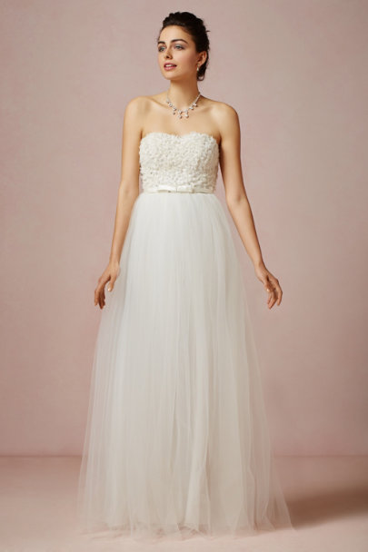 Fancy Bridal NY ivory Titania Gown | BHLDN