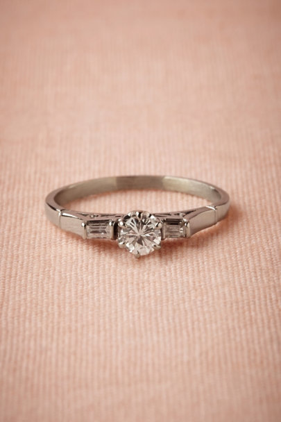 white gold Shirley Ring | BHLDN