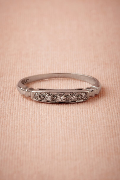 platinum Prospector Diamond Band | BHLDN