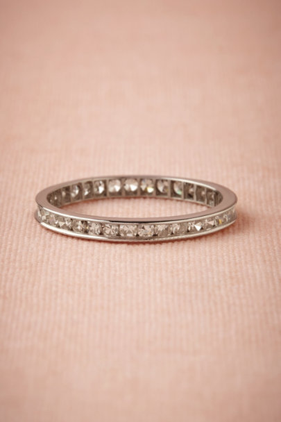 platinum Diamond Eternity Band | BHLDN