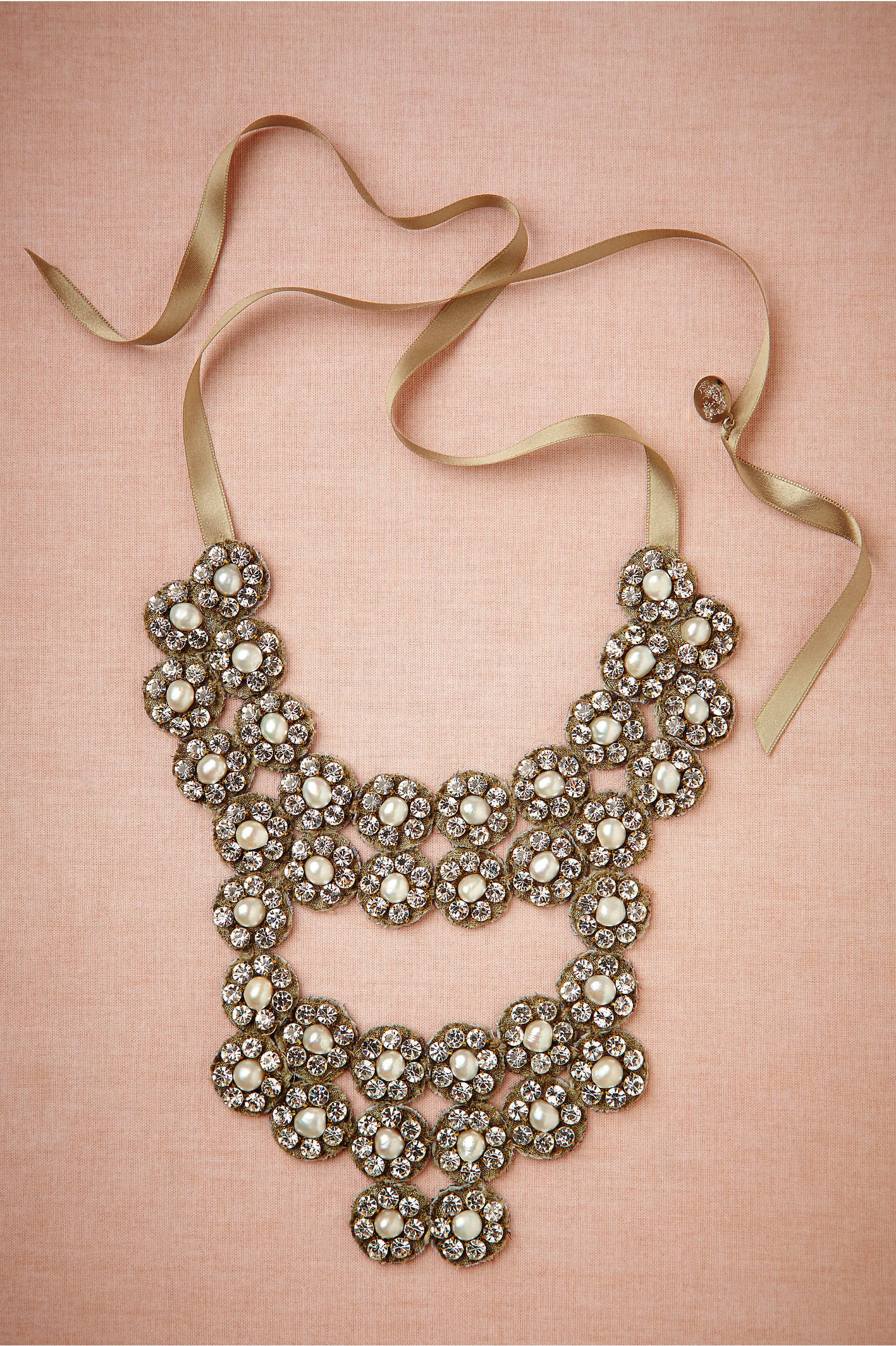 Glinted Flora Necklace in Sale   BHLDN