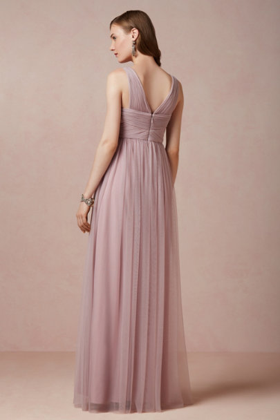 rosy brown Esme Maxi Dress | BHLDN