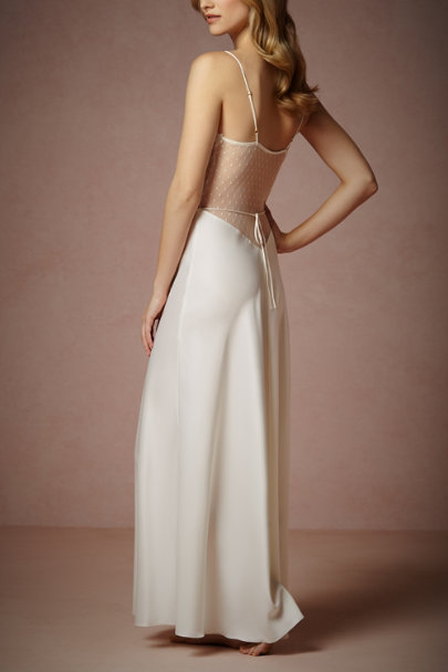 ivory Showstopper Chemise | BHLDN