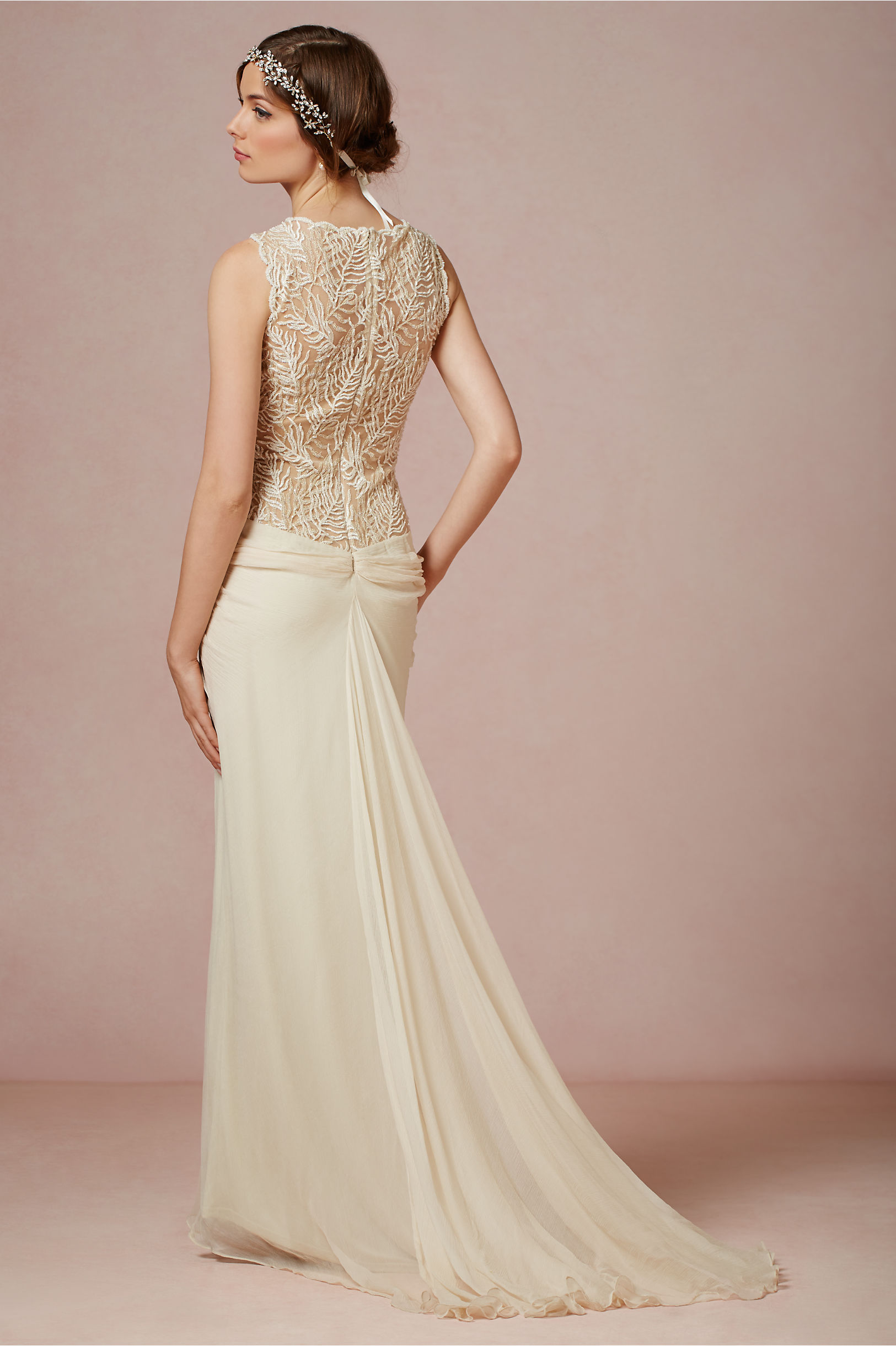 Bisque Cypress Gown Bhldn