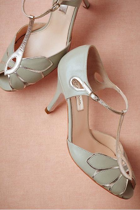 Rachel Simpson Mimosa T-Strap Heels
