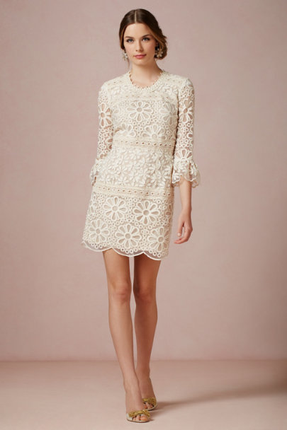 Anna Sui ivory Cleo Dress | BHLDN