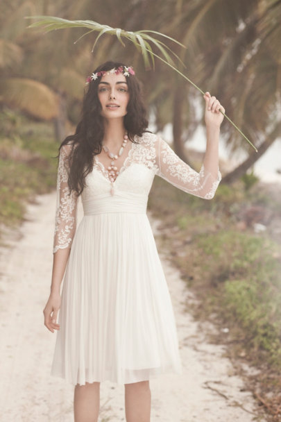 Catherine Deane ivory Omari Dress | BHLDN