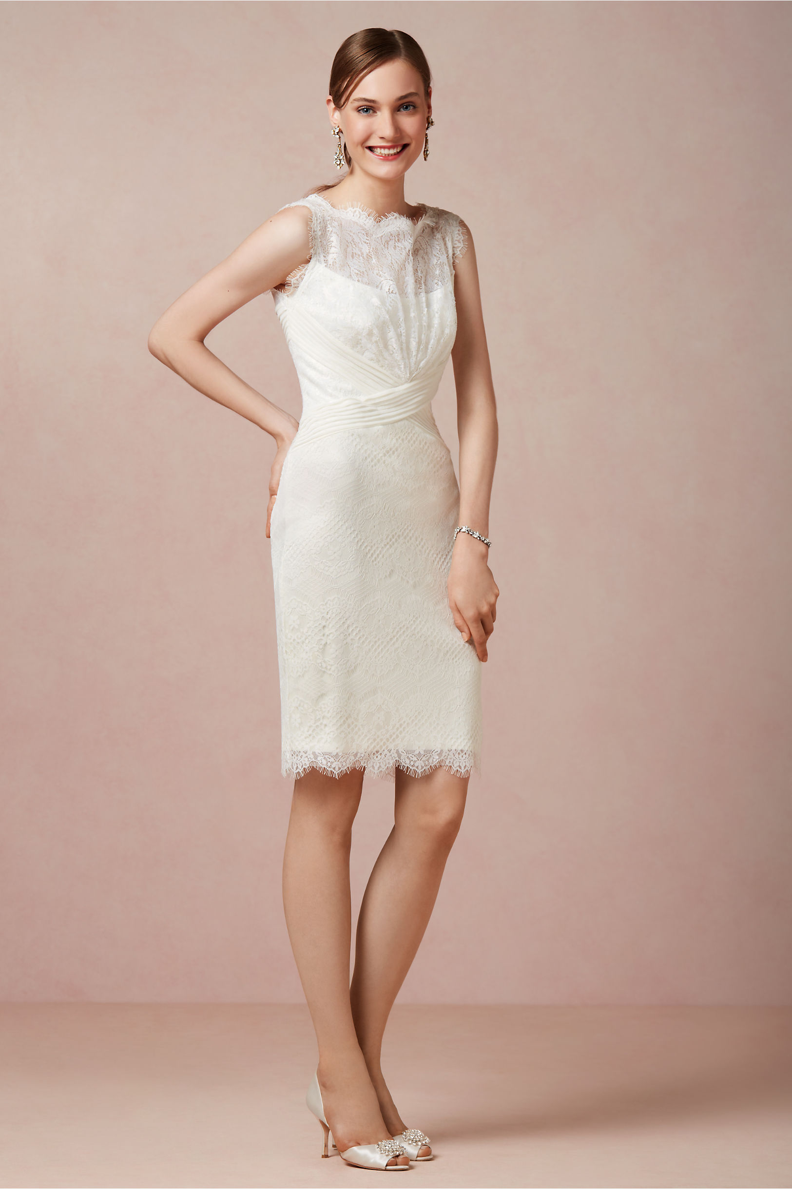 Julienne Dress in Bride | BHLDN