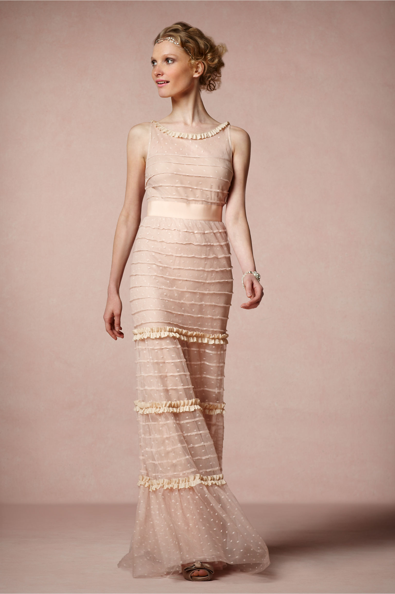Swansdown Dress in Bridal Party | BHLDN