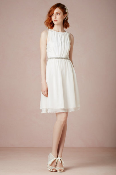 ivory Daylily Dress | BHLDN