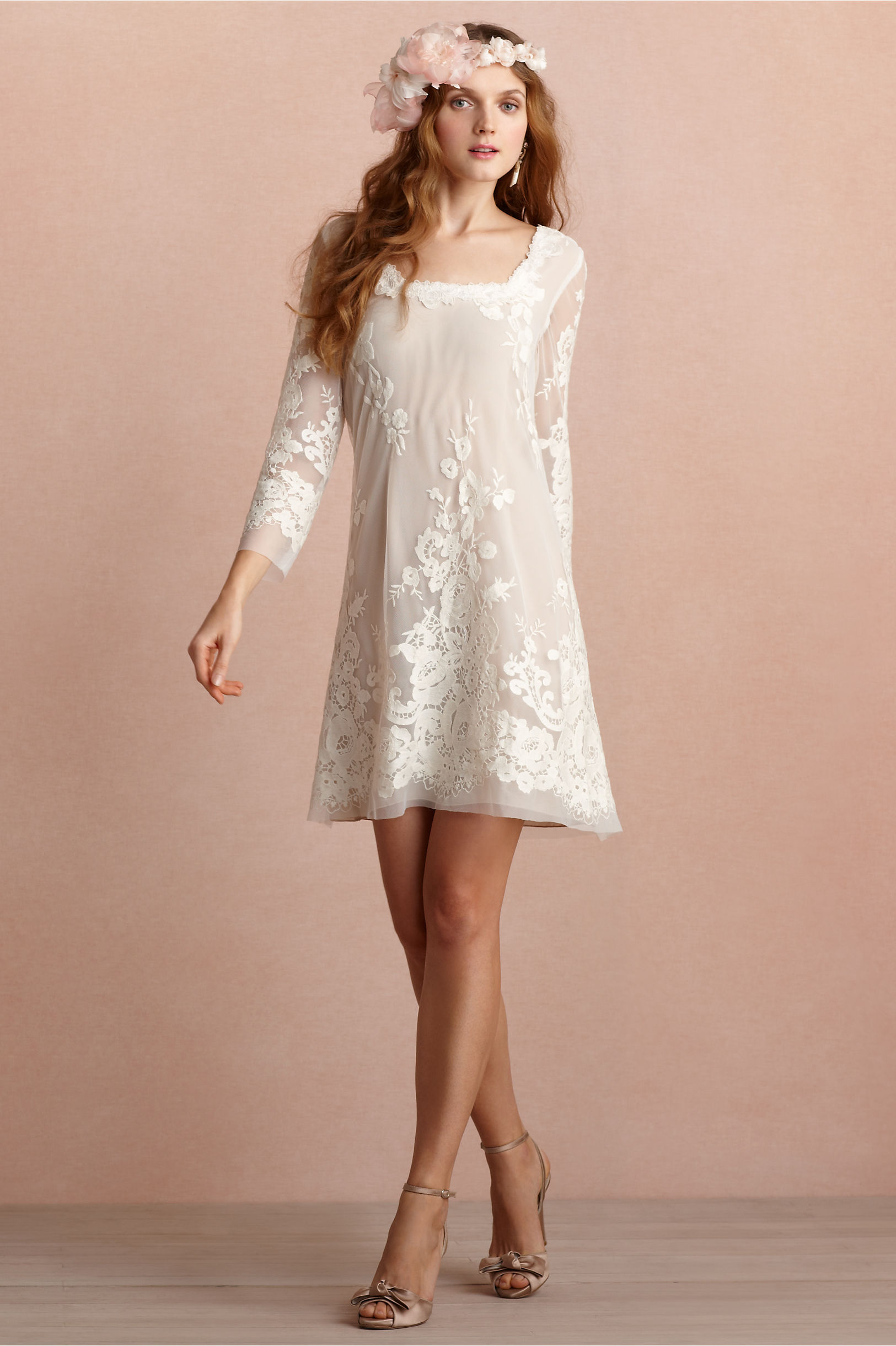 Daisy Doll Dress in Bride | BHLDN