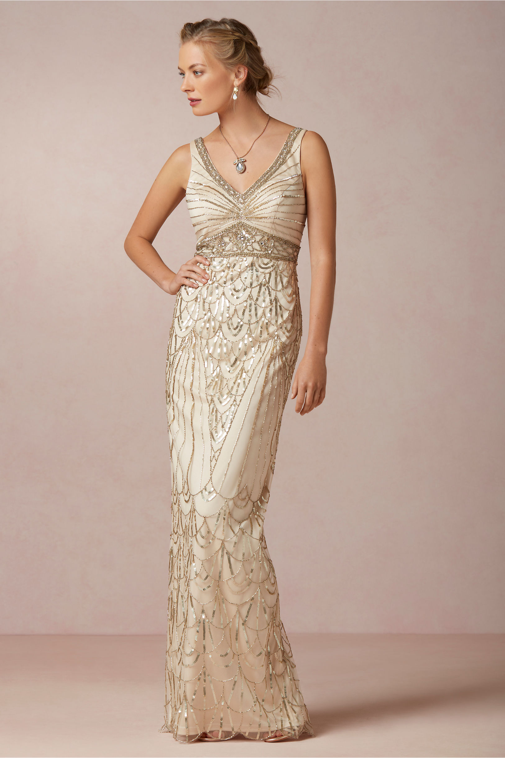 Gatsby Style Dresses for Mother of the Groom