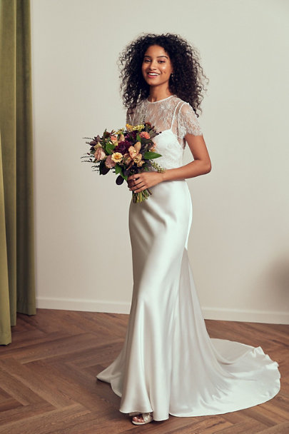 View larger image of Jenny by Jenny Yoo Sutton Gown & Catherine Deane Gracie Topper