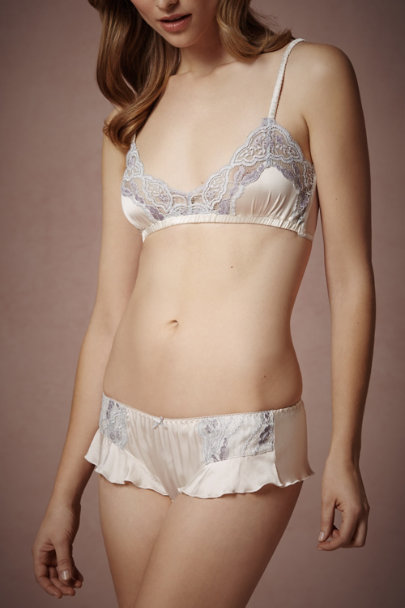 Pearly Blue Mika Knickers | BHLDN