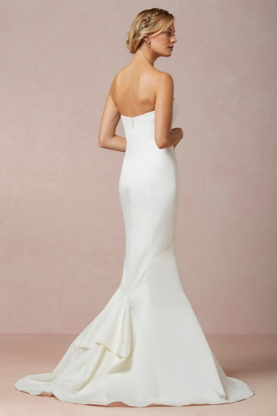 Nicole Miller snow Dakota Gown | BHLDN