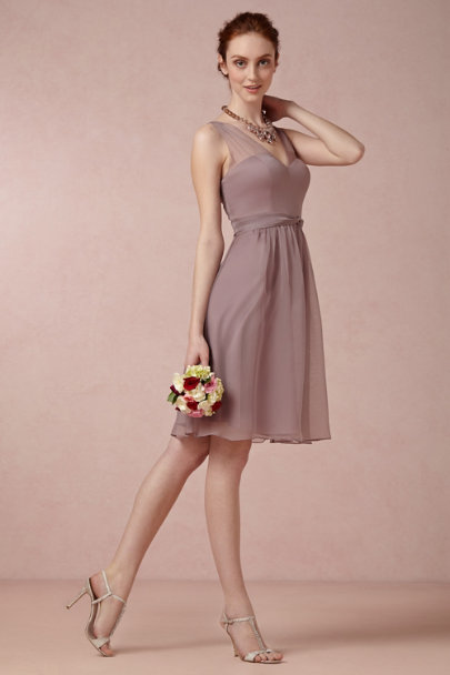dusty mauve Ainsley Dress | BHLDN