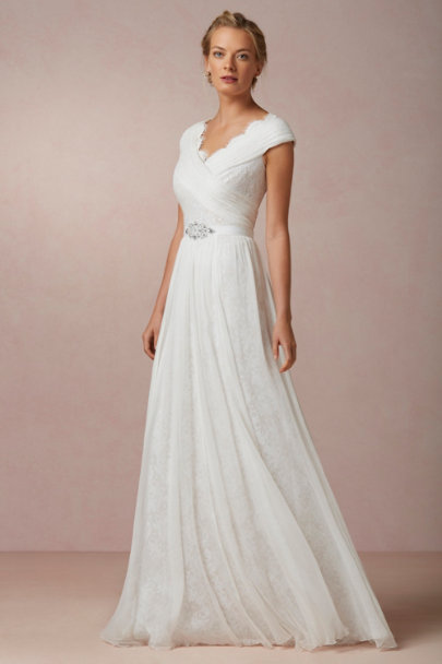 snow Halcyon Gown | BHLDN