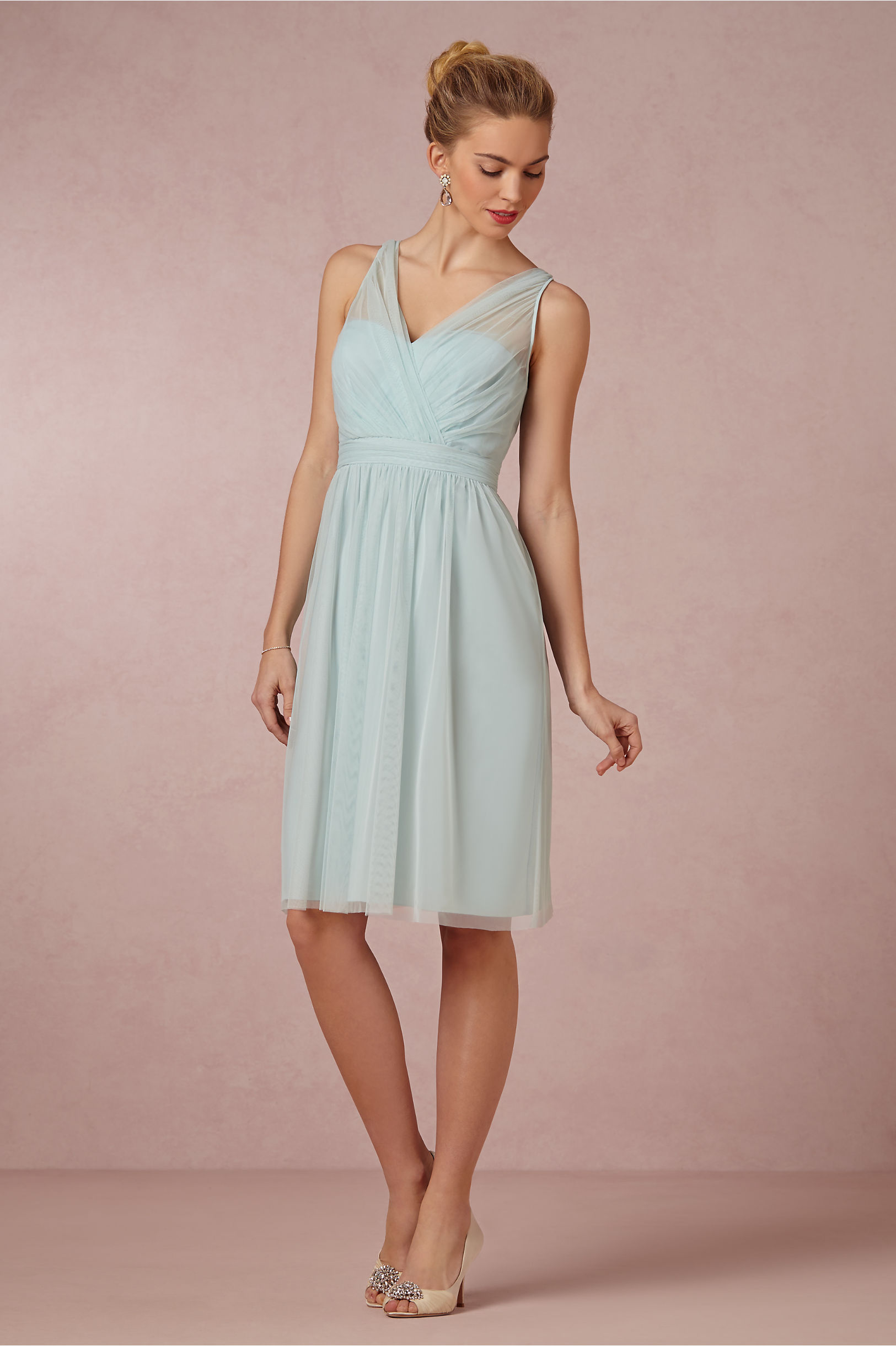 Tansy dress in bridal party bhldn mint mist tansy dress bhldn ombrellifo Images