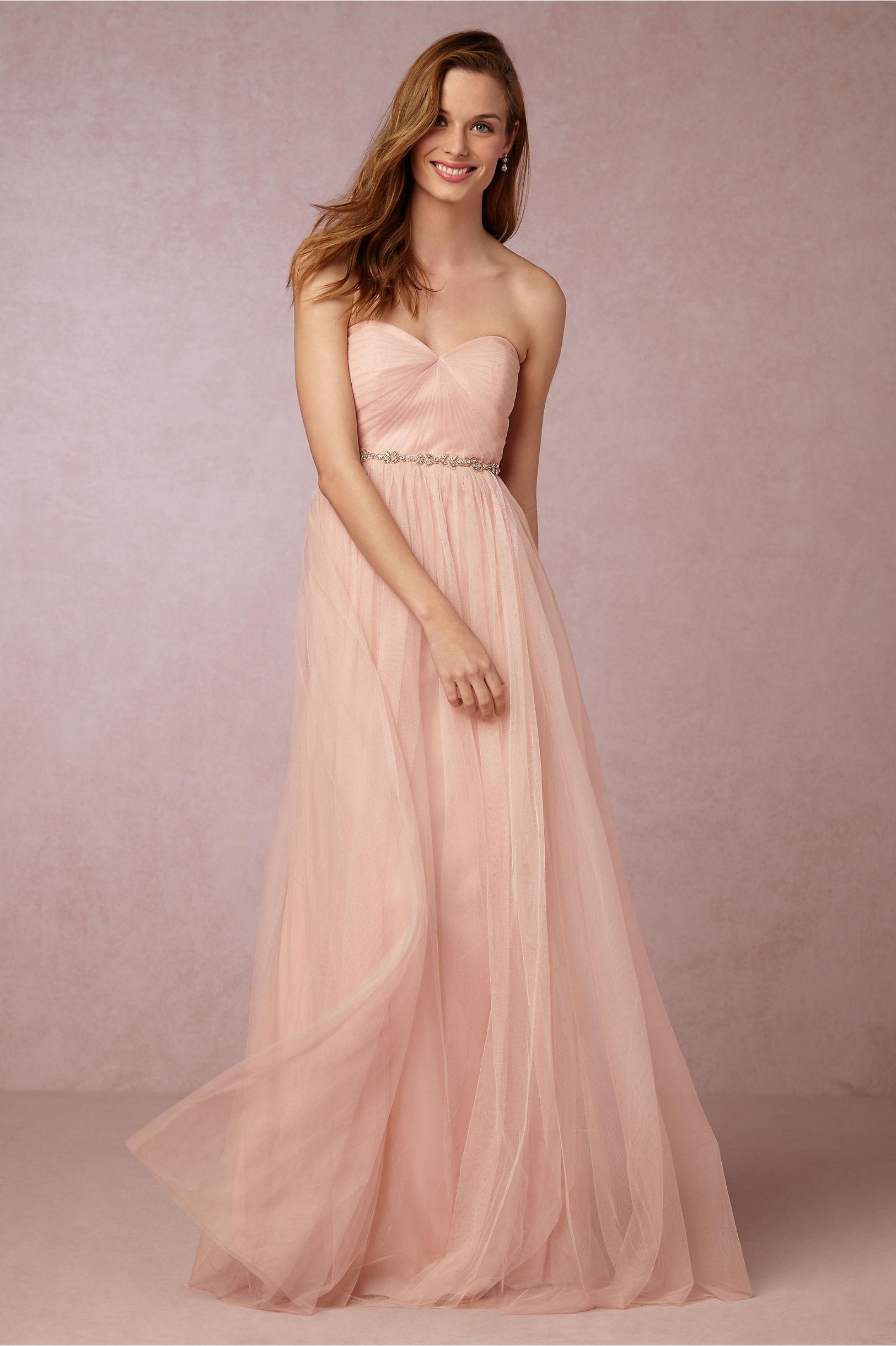 Jenny Yoo Blush Annabelle Dress Bhldn