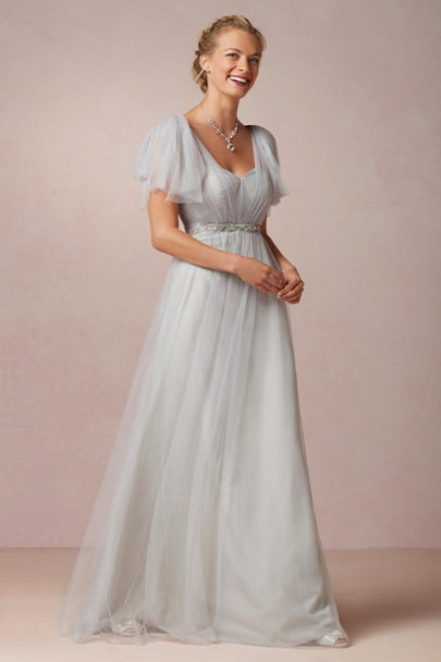 gray wedding dresses annabelle dress in bhldn 4597