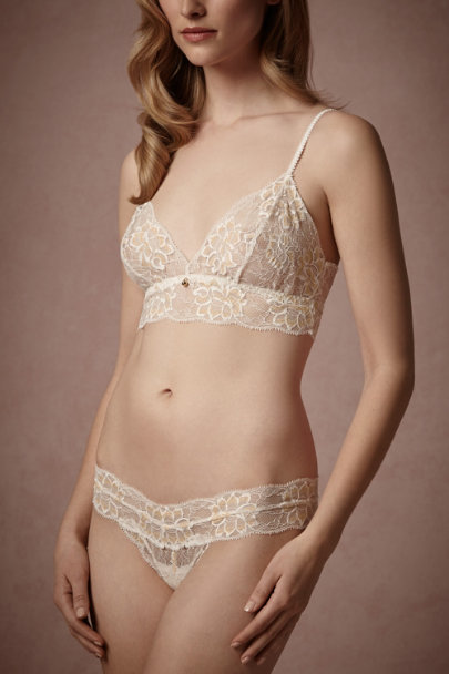 Ivory Ethereal Thong | BHLDN