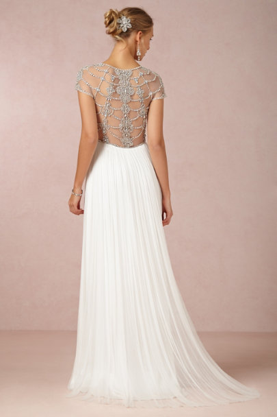 Catherine Deane ivory Tallulah Gown | BHLDN