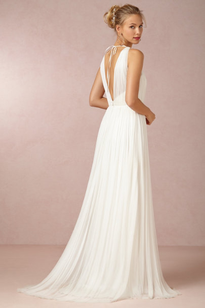 Catherine Deane ivory Ruth Gown | BHLDN