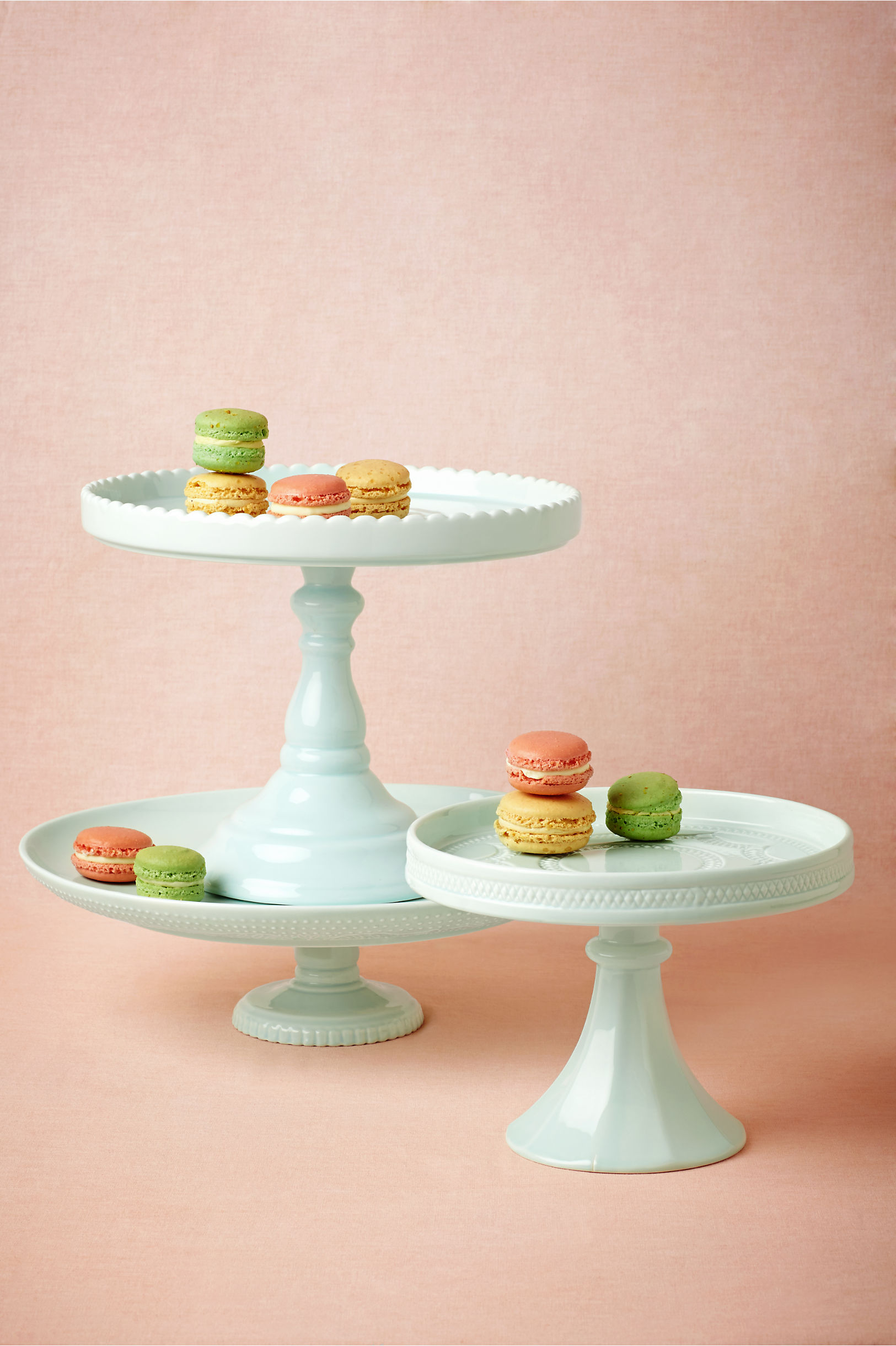 light blue Sweetest Day Cake Stands | BHLDN & Sweetest Day Cake Stands in Sale | BHLDN