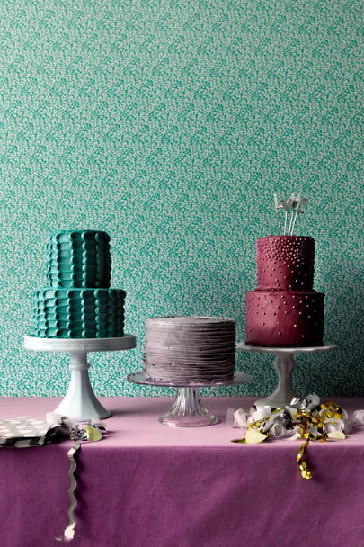 light blue Sweetest Day Cake Stands | BHLDN