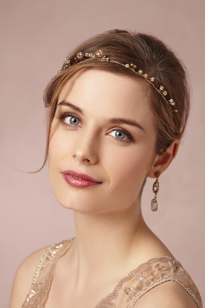 Cécile Boccara gold Elderflower Halo | BHLDN