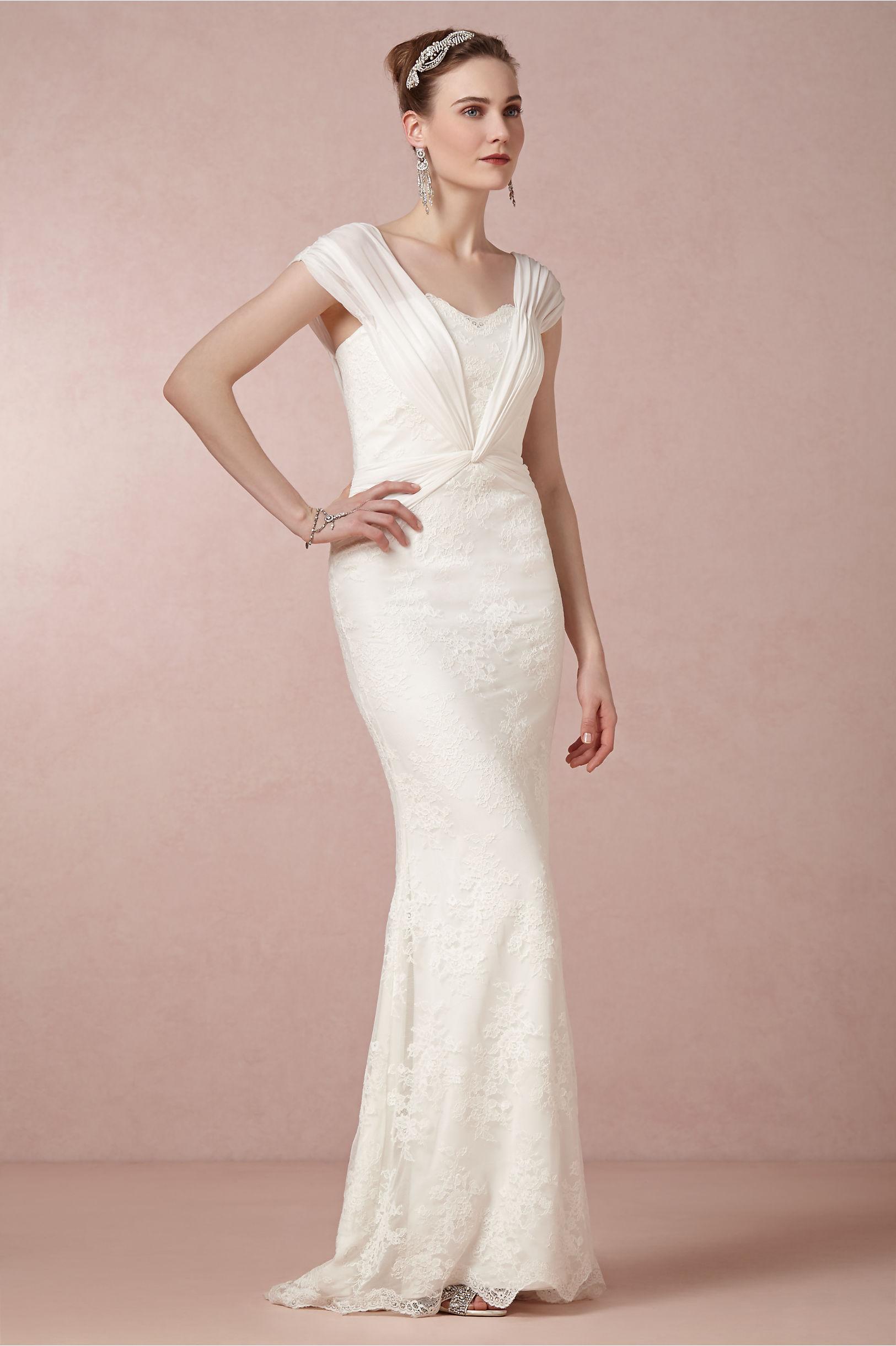 Maya Gown in Bride | BHLDN