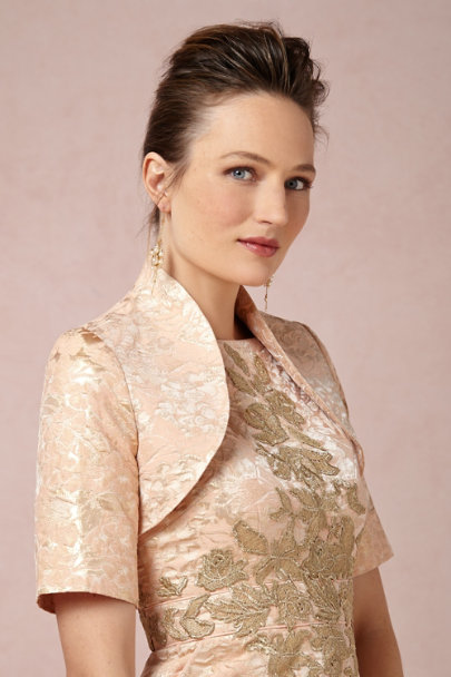 peach Early Skies Bolero | BHLDN