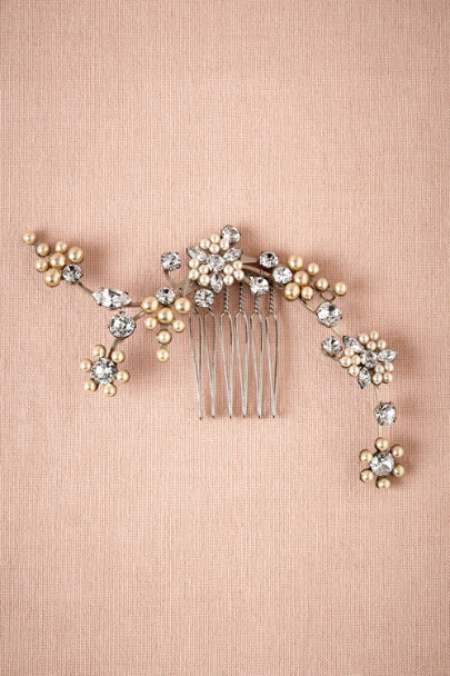 Debra Moreland pearl Moonflower Comb | BHLDN