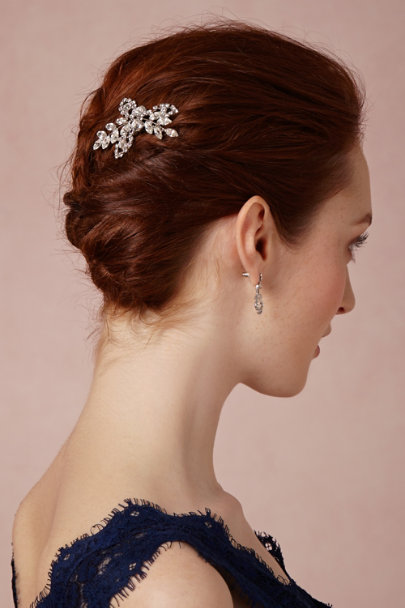 Jennifer Behr silver Primrose Hairpin | BHLDN
