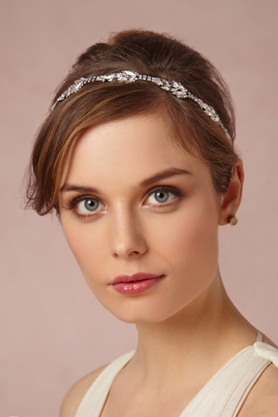 silver Verdure Head Wrap | BHLDN